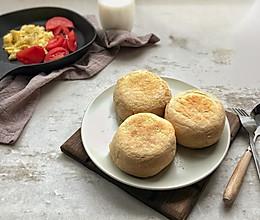 全麦英式麦芬(muffin)的做法