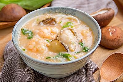 虾油海鲜粥