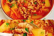 好喝到汤汁都不剩的番茄土豆肥牛汤的做法