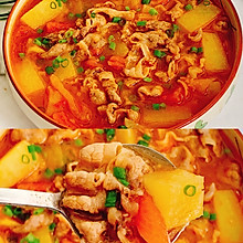 好喝到汤汁都不剩的番茄土豆肥牛汤