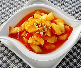 番茄炒冬瓜 #好吃不上火#的做法