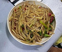 青椒土豆丝的做法