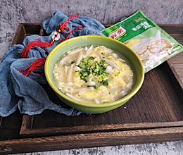 快手菌菇汤的做法