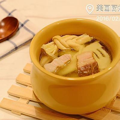 教你炖出一碗最鲜的清汤-腌笃鲜(附自制咸肉做法)