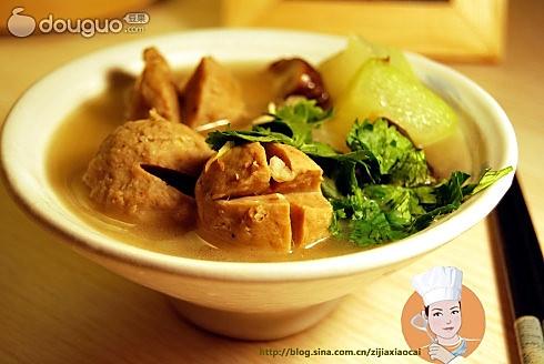 冬菌牛丸汤的做法