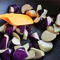 蒜香肉末酱茄子--米饭杀手(4)的做法图解3