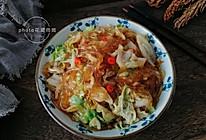 家常下饭菜--白菜炒粉条的做法