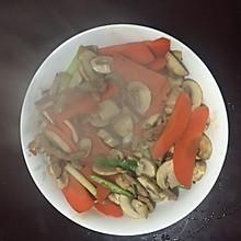 蘑菇炒肉丝
