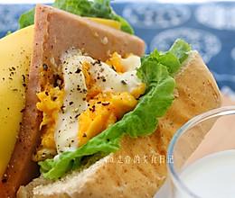 韩式爆蛋厚吐司 egg drop的做法
