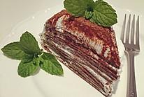 巧克力法式千層蛋糕的做法