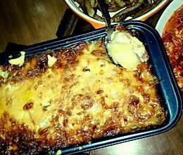 芝士火腿焗土豆的做法
