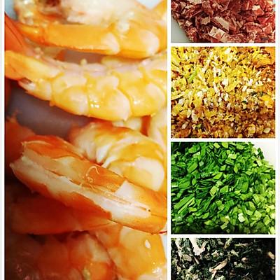 翡翠白菜-------新年饺子的做法 步骤1
