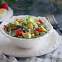 爽口的鸡蛋杂蔬沙拉的做法图解10