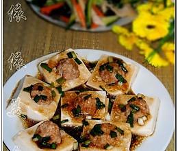 清蒸酿豆腐的做法