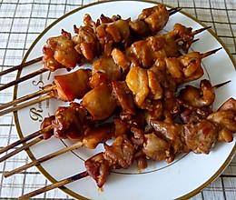 香烤鸡腿肉串儿的做法