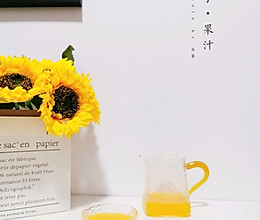 超可的橘子汁,比果粒橙还好喝!的做法