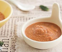胡萝卜彩椒鸡肝泥的做法