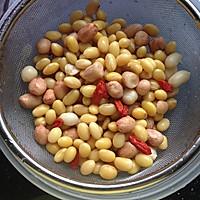 黄豆花生豆浆的做法图解4