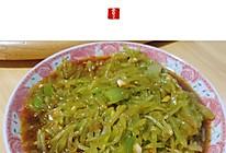 #美食视频挑战赛# 凉拌莴笋的做法