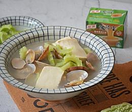 花蛤苦瓜豆腐汤的做法