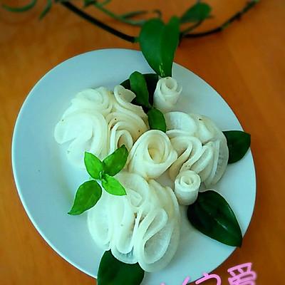 送你一束素洁的花儿