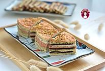 #舌尖上的端午#  多彩桂花米糕的做法