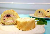 黑森林樱桃果酱蛋糕卷的做法