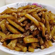 红烧土豆条