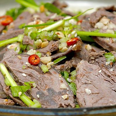 干拌牛肉|美食台