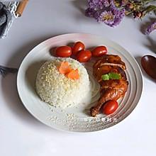 奥尔良烤鸡腿饭#硬核菜谱制作人#