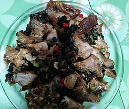 雪菜豆豉烧鲷鱼锁骨的做法