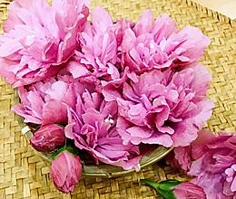 木槿花汤,这朵开在六月的花, 原来能降火排毒还能吃!的做法