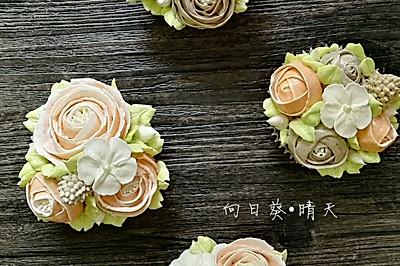韩式裱花~唯美杯子蛋糕