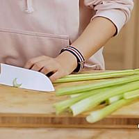 健康便当23(南瓜糙米饭+柠檬鸡丝+干锅包菜)的做法图解4