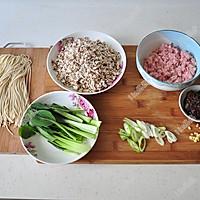 香菇肉酱面#美的微波炉菜谱#的做法图解2