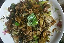酸菜大葱炒肉片的做法