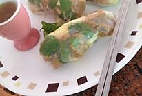 嘻嘻的厨房:越南菜-蜜汁鸡米卷的做法