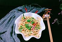 #春季减肥,边吃边瘦#凉拌豆腐皮的做法