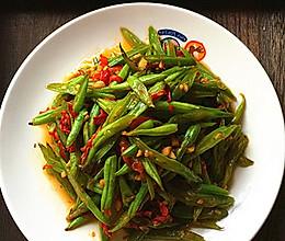 剁椒炒四季豆丝的做法