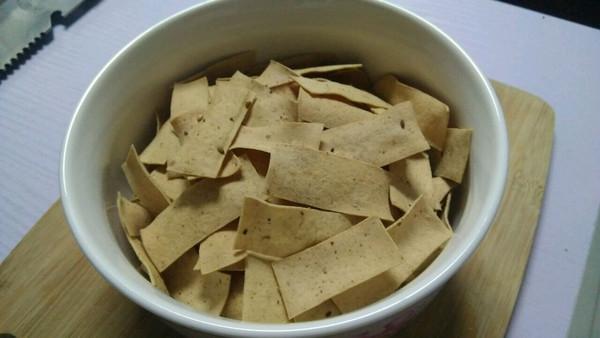 自创小零食 烤干豆腐片的做法