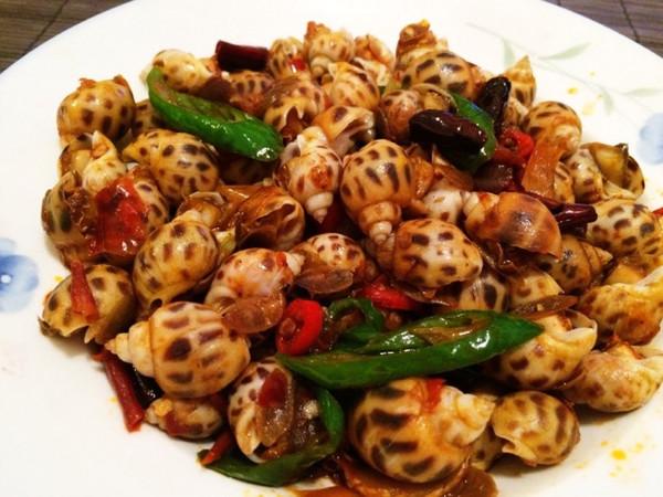 Q弹入味下酒菜 吮指香辣花螺 小海螺的做法