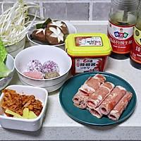 #橄榄中国味 感恩添美味#一人食泡菜火锅的做法图解1