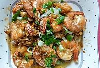 蒜蓉炒虾的做法