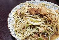 炒豆芽菜的做法
