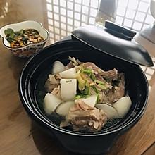 清水羊肉炖白萝卜