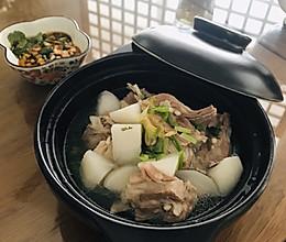 清水羊肉炖白萝卜的做法