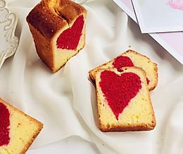 #520,美食撩动TA的心!#爱心磅蛋糕的做法