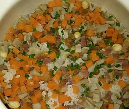 砂锅焖饭的做法