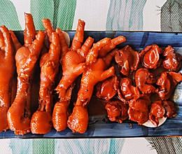 家常版卤鸡爪卤鸡胗,超级美味的下酒菜,营养美容健康!的做法