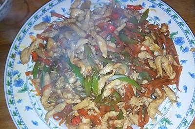 鱼香鸡丝(无郫县豆瓣酱版)